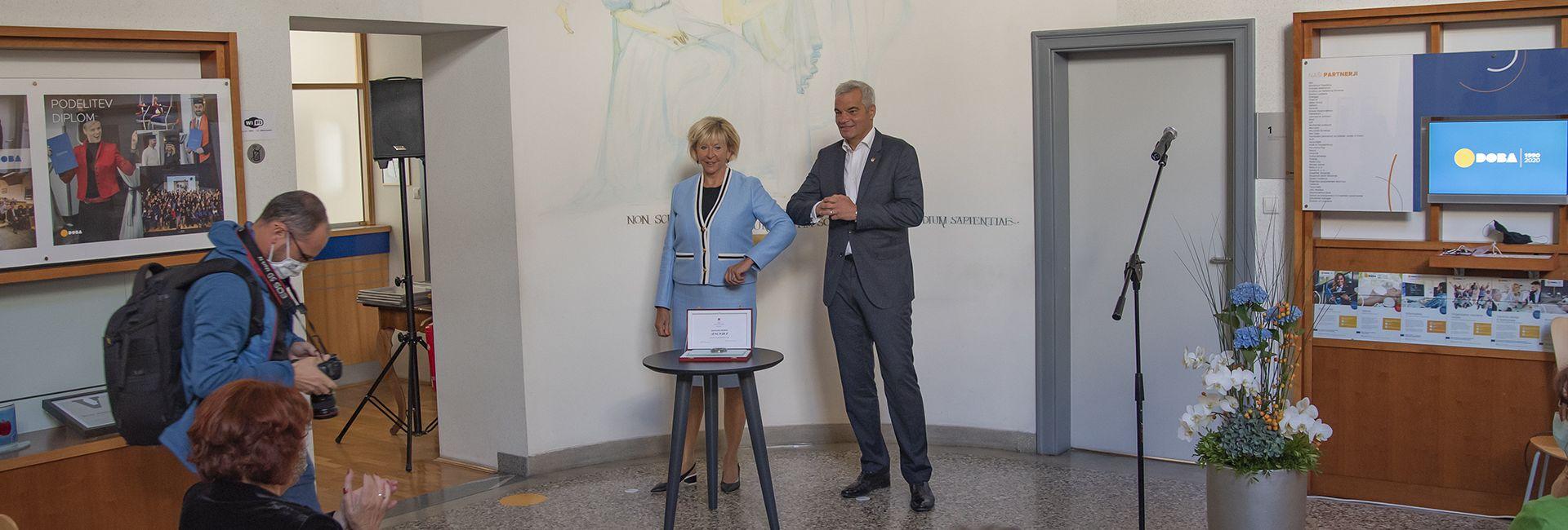 Župan mesta Maribor DOBI ob 30. obletnici podelil mestni pečat
