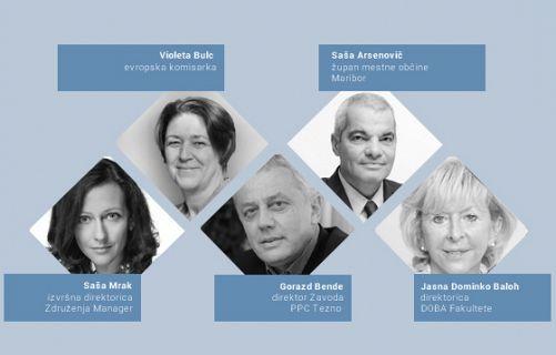 Predavanje in okrogla miza z uglednimi strokovnjaki in politiki o izzivih managementa