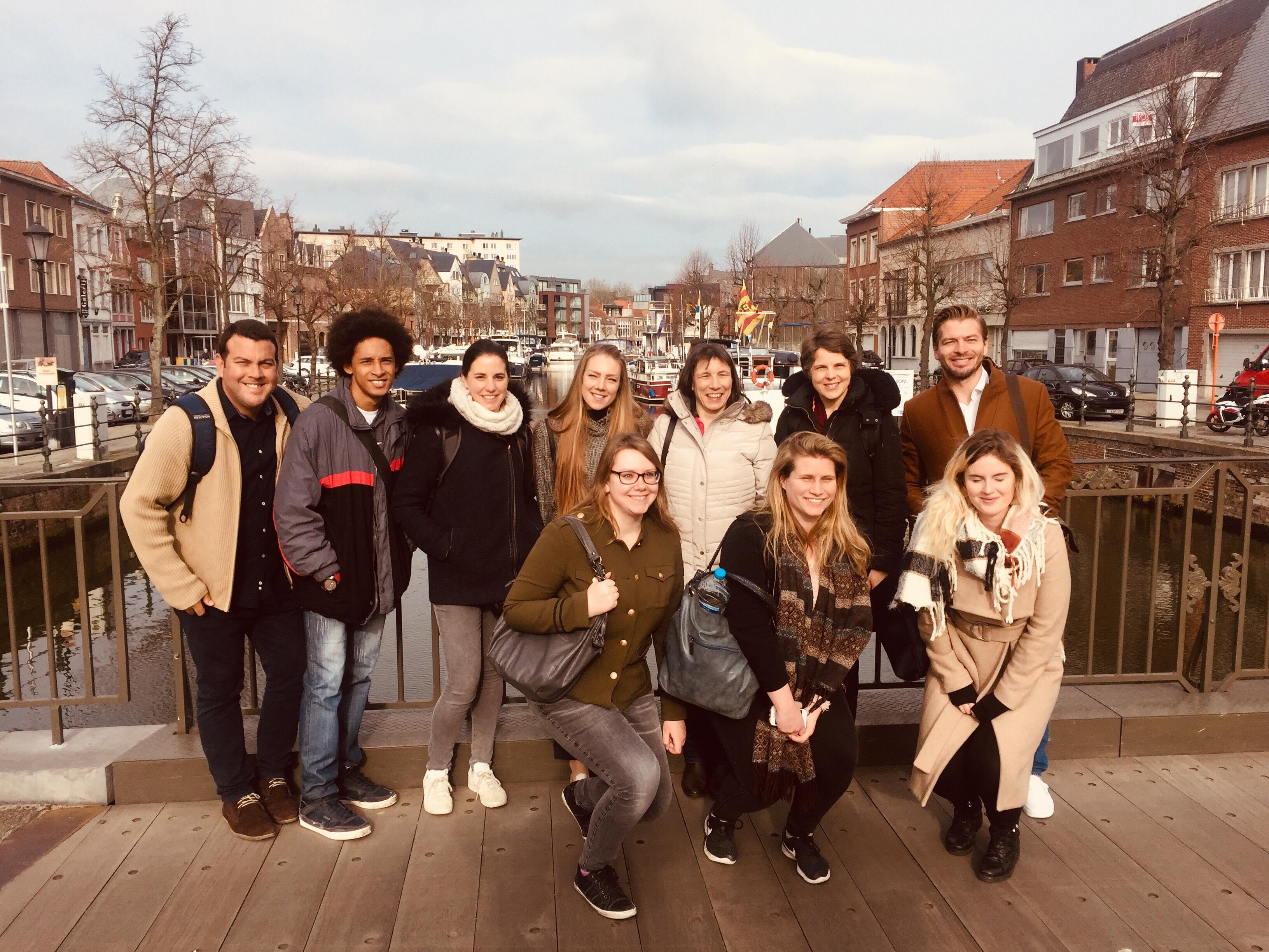 Akademska svetovalka DOBA Fakultete na Erasmus mobilnosti v Belgiji